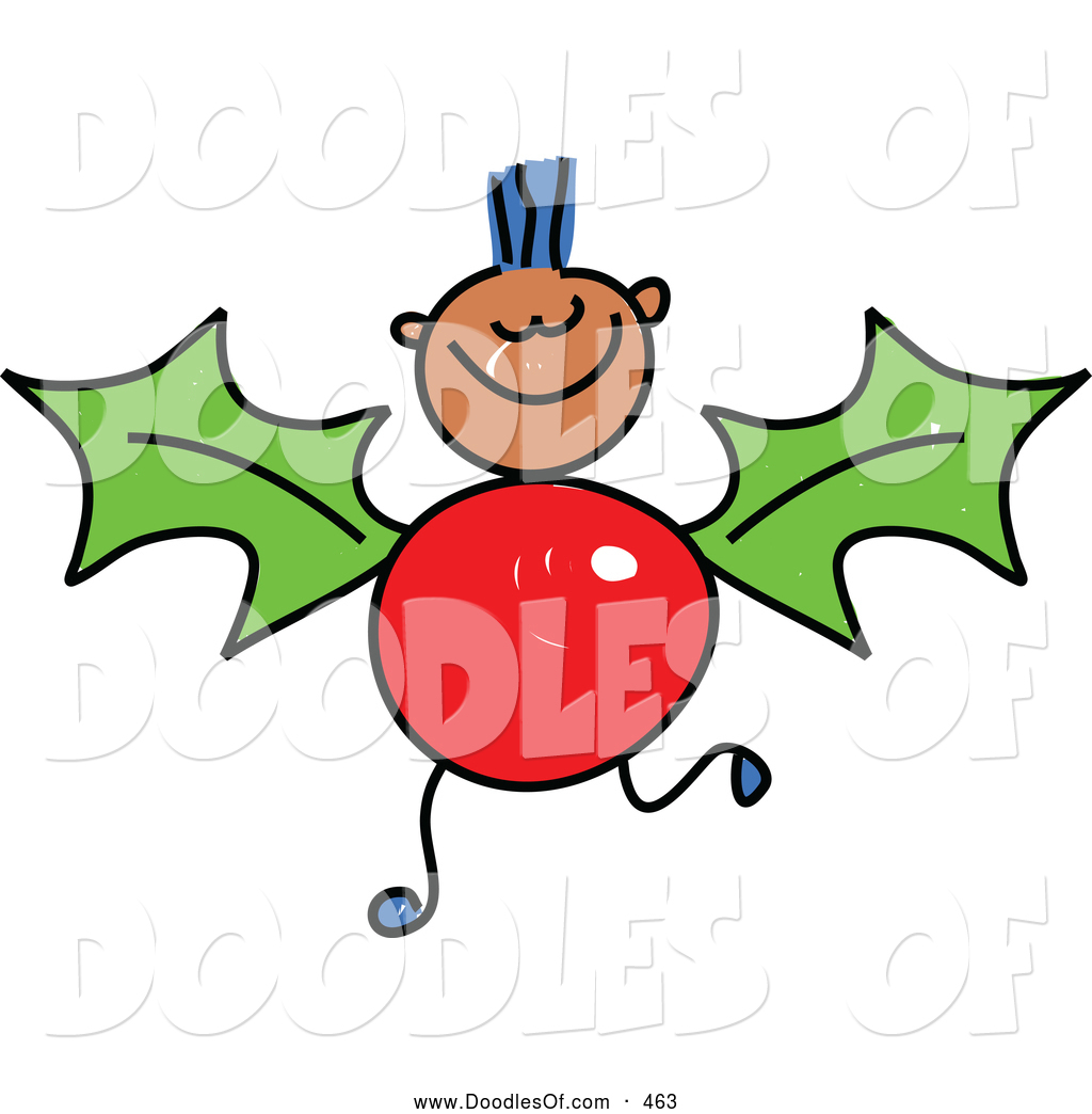 vector-clipart-of-a-childs-drawing-of-a-boy-with-a-holly-body-by-prawny-463