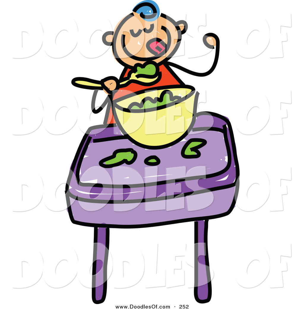 baby eating clipart - photo #26