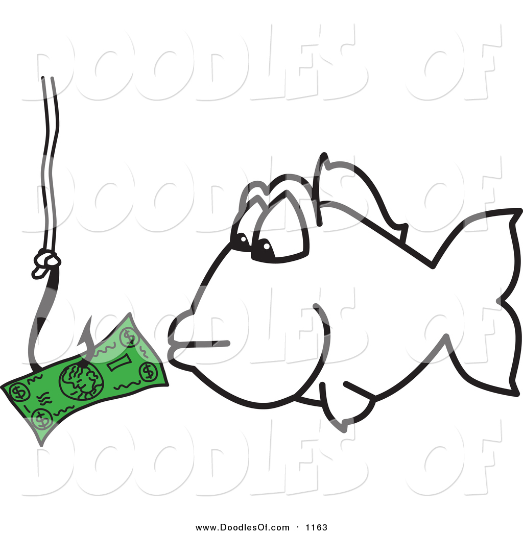 royalty free fish stock doodle designs