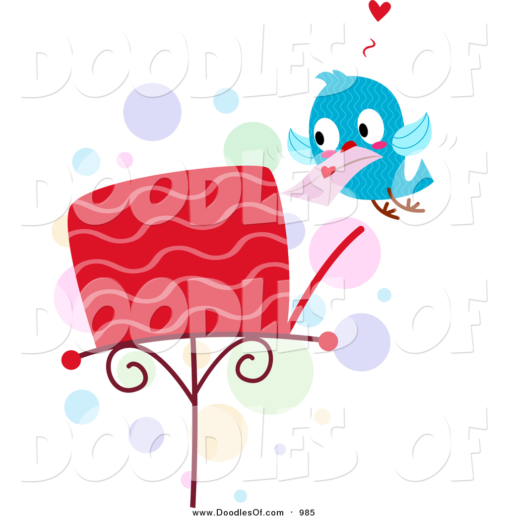 Love Bird Quotes Royalty Free Stock Doodle Designs Of Love Birds
