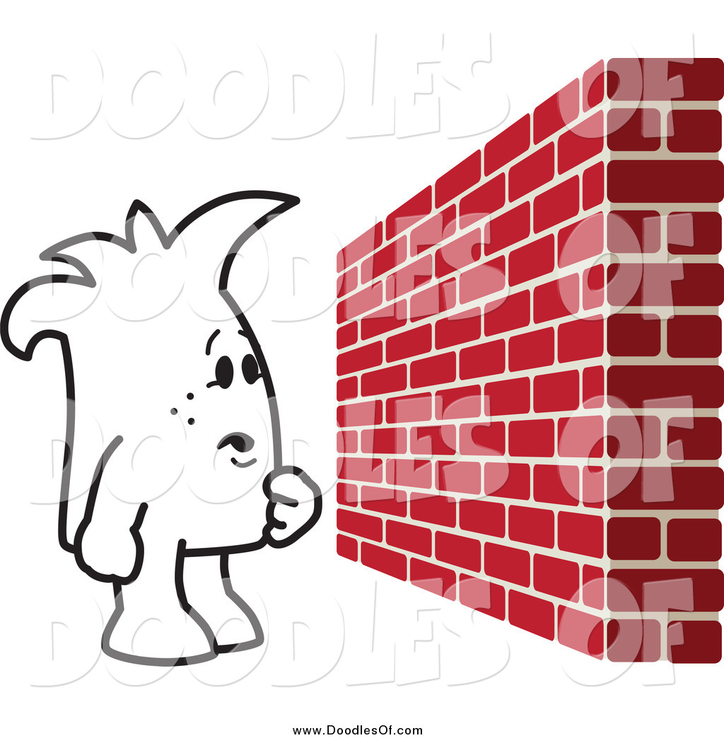 Brick Wall Clip Art: New Stock Doodle Designs By Some Of The