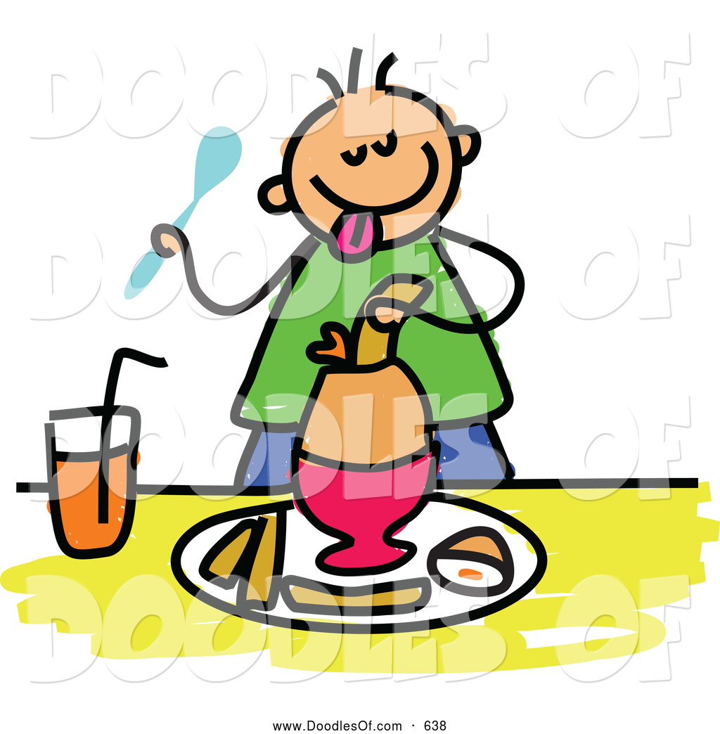 Boy Eating Breakfast Clip Art Pictures to Pin on Pinterest ...