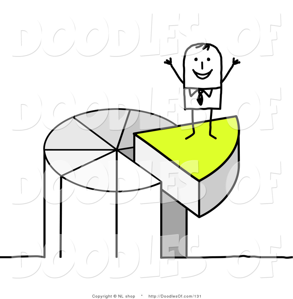 Royalty Free Stock Doodle Designs of Statistics