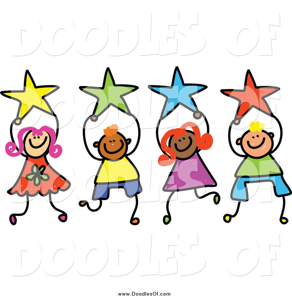 Royalty free stock doodle designs of stars for Images of stars for kids